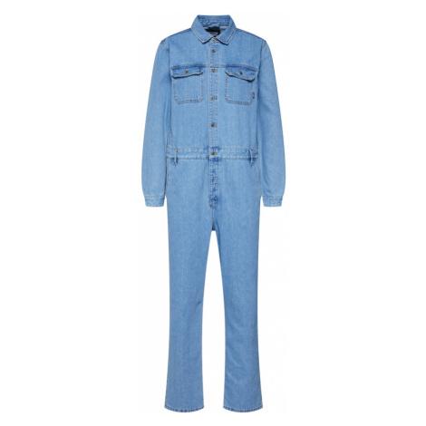 Dr. Denim Kombinezon 'york boiler suit' niebieski denim