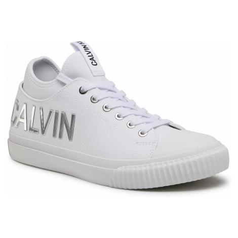 Trampki CALVIN KLEIN JEANS - Ivanco B4S0698 White/Silver