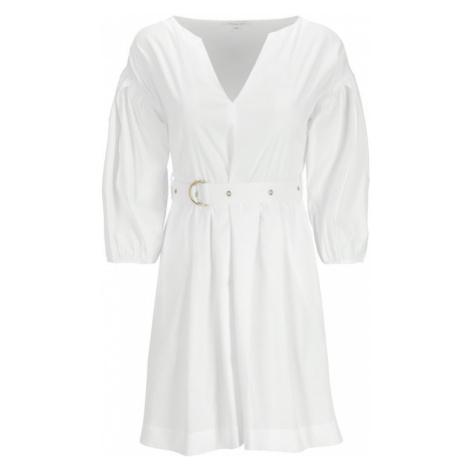 Patrizia Pepe Sukienka codzienna 2A1940/A23-W103 Biały Regular Fit