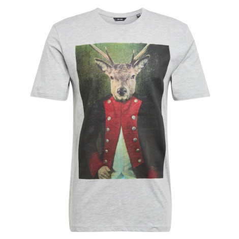 Only & Sons Koszulka 'BURNEY' szary / mieszane kolory