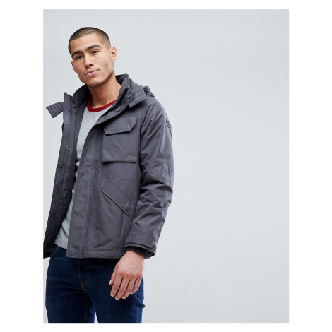 Abercrombie & Fitch Technical Jacket Midweight in Grey