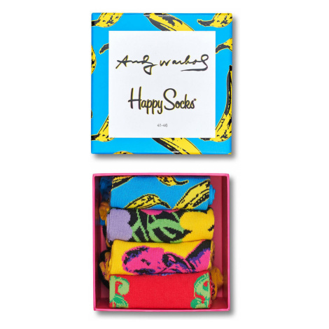 Happy Socks - Skarpety Andy Warhol Gift Box