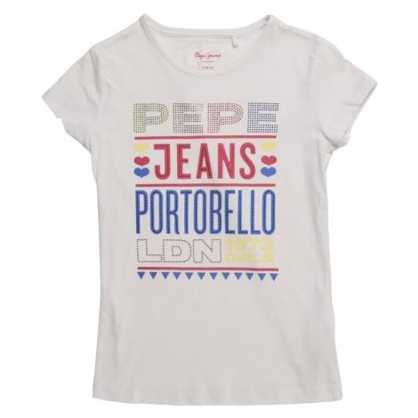 Pepe Jeans Koszulka 'FRIDA' biały