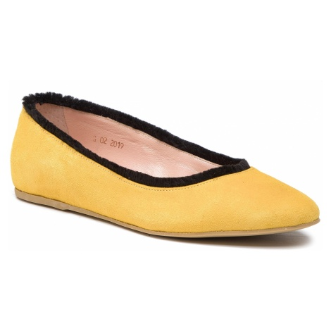 Baleriny L37 - Cotton Candy Z27 Żółty