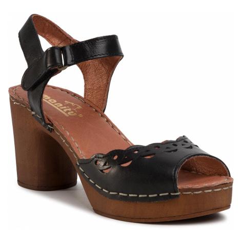 Sandały MANITU - 910996 Schwarz 1