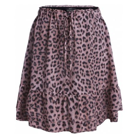 SET Spódnica różowy pudrowy