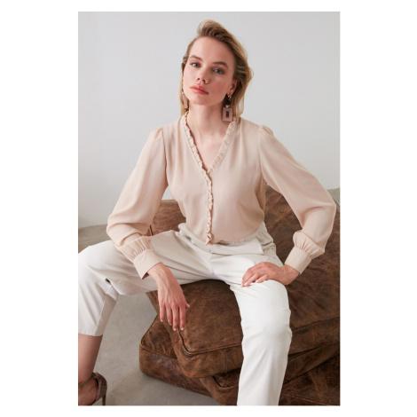 Trendyol Stone Collar Detailed Shirt