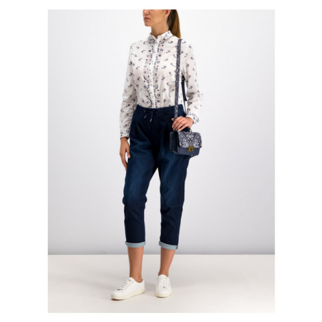 Pepe Jeans Koszula PL303315 Biały Regular Fit