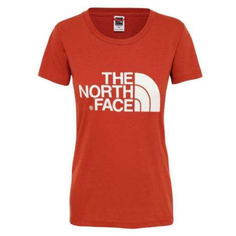 The North Face S/S EASY TEE czerwony XS - Koszulka damska