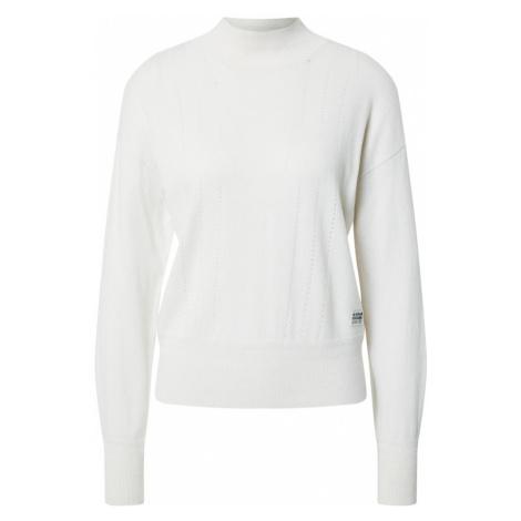 G-Star RAW Sweter biały