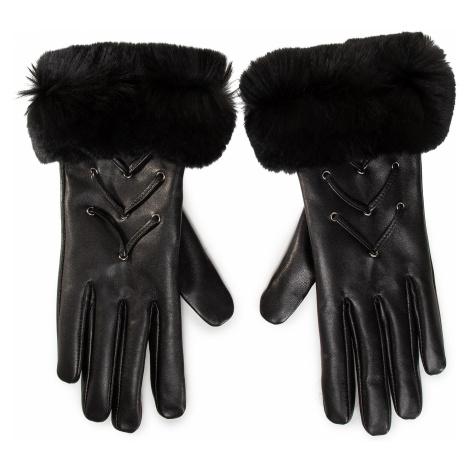 Rękawiczki Damskie GINO ROSSI - AR0208-000-OGFF-9999-T Czarny