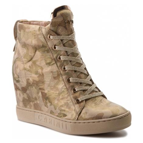Sneakersy CARINII - B4078 L59-000-000-B88