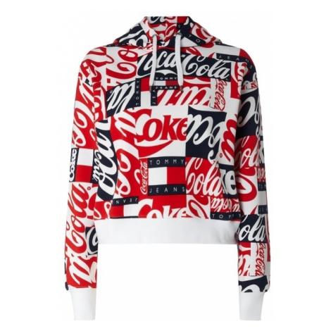 Bluza z kapturem i aplikacją z logo Tommy Jeans x Coca Cola® Tommy Hilfiger