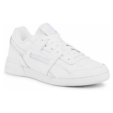 Buty Reebok - Workout Lo Plus EH0232 White/White/Lilfro