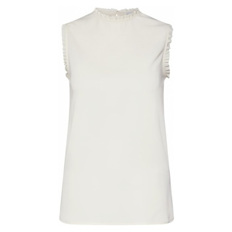 Calvin Klein Top 'FRILL DETAIL TOP NS' biały