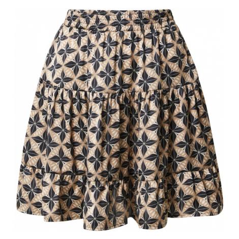 Rut & Circle Spódnica 'Telma' czarny / beżowy