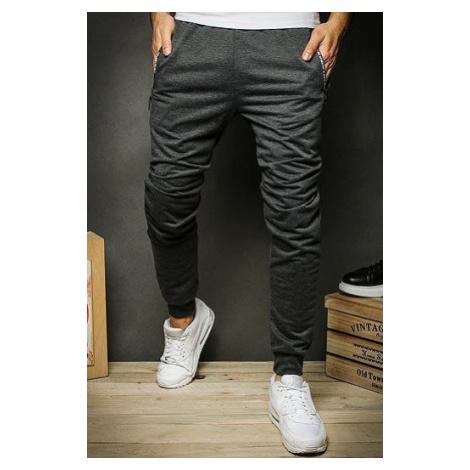 Dark gray men's sweatpants UX2370 DStreet