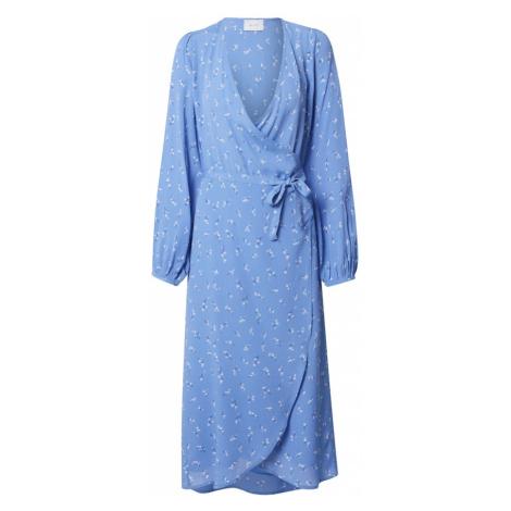 Neo Noir Sukienka 'Essa' niebieski / czarny / biały