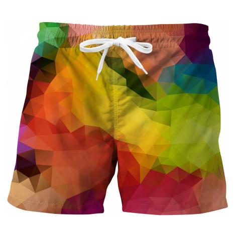 Men's swimwear Mr. GUGU & Miss GO Colorful geometric