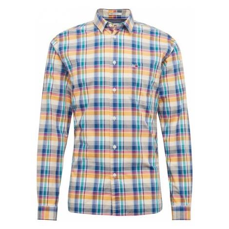 Tommy Jeans Koszula 'TJM ESSENTIAL BIG CHECK' jasnoniebieski / żółty / biały Tommy Hilfiger