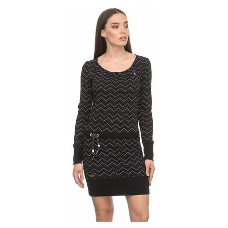 sukienka Ragwear Alexa Zig Zag - 1010/Black