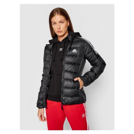 Czarne damskie sportowe kurtki zimowe