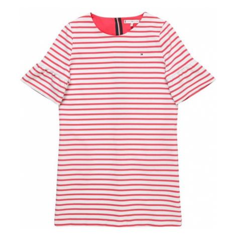 TOMMY HILFIGER Sukienka czerwony / biały