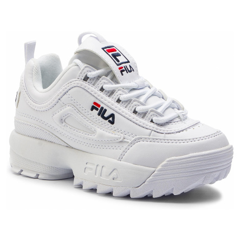 Sneakersy FILA - Disruptor Kids 1010567.1FG White