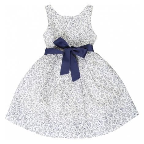 POLO RALPH LAUREN Sukienka 'FLRL FIT FLA' granatowy / biały