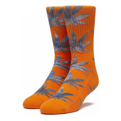 Skarpetki HUF Tiedye Leaves Plantlife Sock SK00443 ORANGE