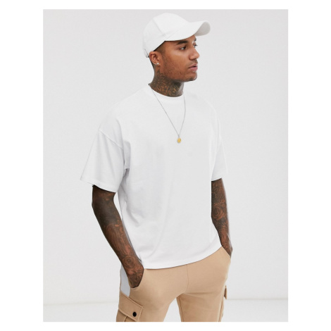ASOS DESIGN oversized t-shirt with crew neck in white