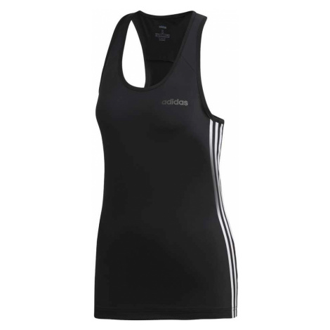 Adidas Top Design 2-Move 3-Stripes Damska Czarna (DU2056)