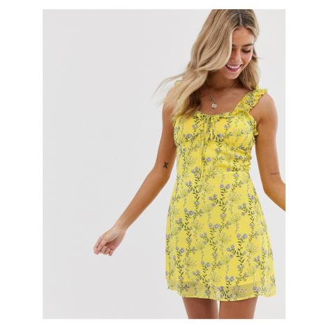 Wild Honey mini dress in vintage floral