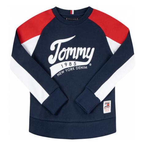 TOMMY HILFIGER Bluza 1985 KB0KB05495 Granatowy Regular Fit
