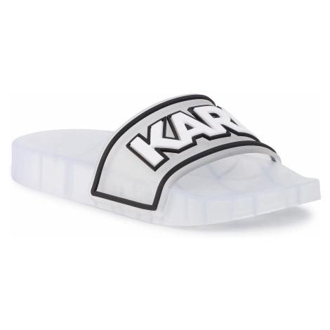 Klapki KARL LAGERFELD - KL80710 Clear Rubber