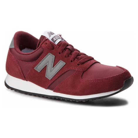 Sneakersy NEW BALANCE - U420BUG Bordowy