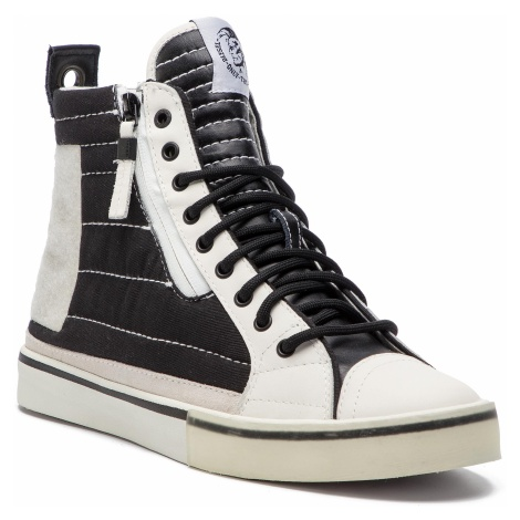 Sneakersy DIESEL - D-Velows Mid Patch Y01819 P2090 H1532 Black/White