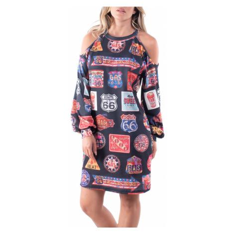 Culito from Spain kolorowa sukienka Route 66