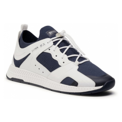 Boss Sneakersy Titanium 50432784 10227343 01 Granatowy Hugo Boss