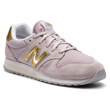 Sneakersy NEW BALANCE - WL520GDC Fioletowy