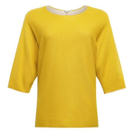 MY TRUE ME Sweter żółty