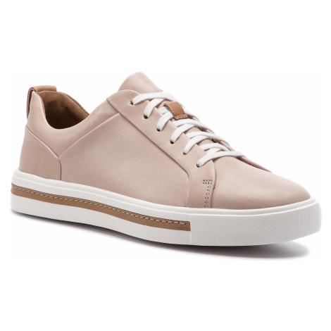 Sneakersy CLARKS - Un Maui Lace 261401674 Blush Leather