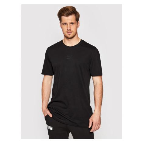 Puma T-Shirt Tfs Graphic Tee 597614 Czarny Regular Fit