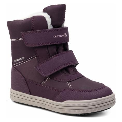 Śniegowce GEOX - J Zorian G.B Wpf A J744TA 0FUCE C8224 S Purple/Pink