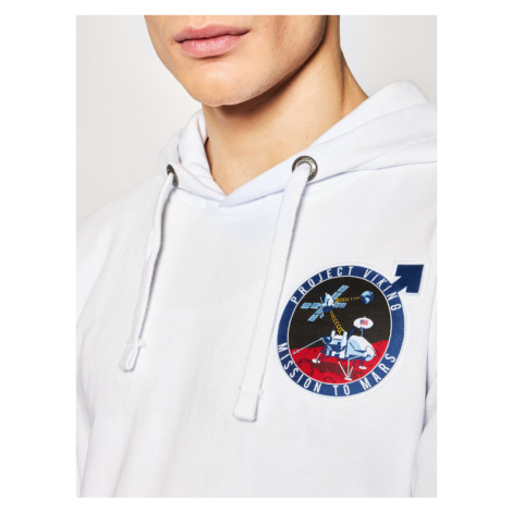 Alpha Industries Bluza VIKING Pioneer Hoody 126358 Biały Regular Fit