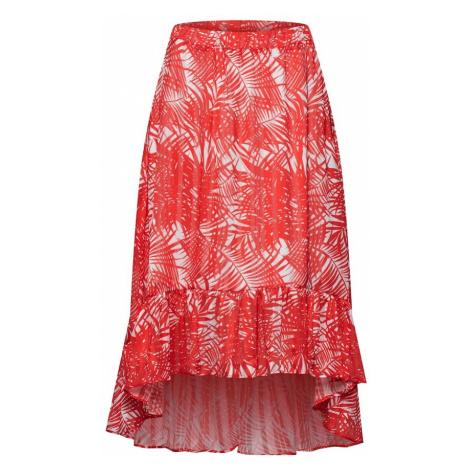 OBJECT Spódnica jasnoczerwony / biały