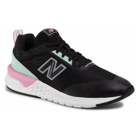 Sneakersy NEW BALANCE - WS515RA2 Czarny Zielony