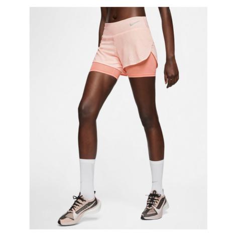 Nike Eclipse Szorty Różowy