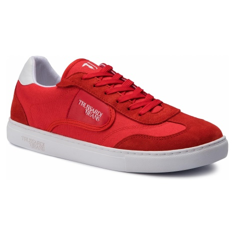 Sneakersy TRUSSARDI JEANS - 77A00144 Red R150
