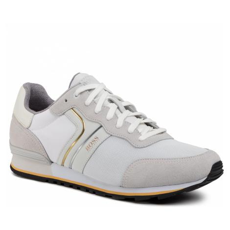 Sneakersy BOSS - Parkour 50433661 10214574 01 Natual 107 Hugo Boss